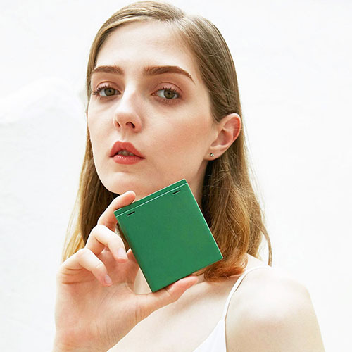 Xiaomi VH Makeup Pocket Mirror Green