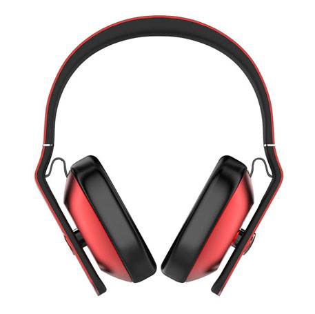 1More MK801 Bluetooth Over-Ear Headphones Red