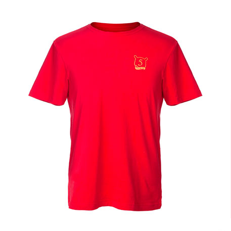 Xiaomi Mi T-Shirt Give Mi Five Red XL