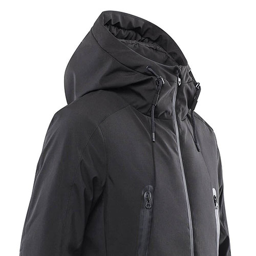 90 GO FUN Temperature Control Down Jacket Black (L)
