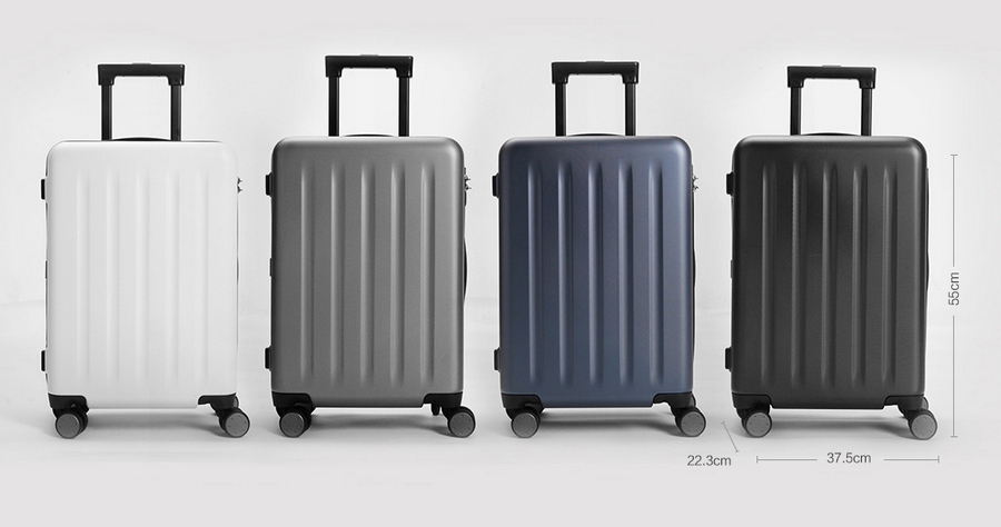 "Xiaomi Trolley 90 Points Suitcase 20"" Blue Aurora"