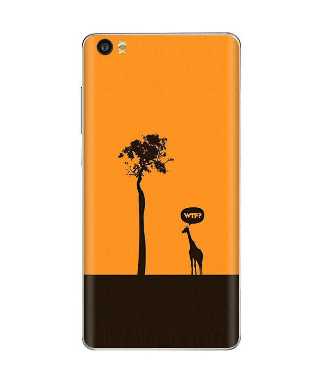 Xiaomi Mi Note Vinyl Sticker Back Cover Helpless