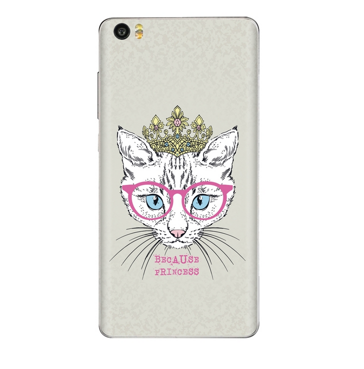 Xiaomi Mi Note Vinyl Sticker Back Cover Queen