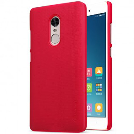 NILLKIN Super Frosted Shield Case for Xiaomi Redmi Note 4X Red