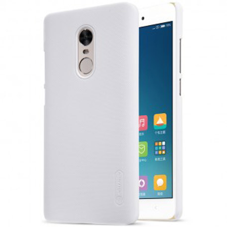 NILLKIN Super Frosted Shield Case for Xiaomi Redmi Note 4X White