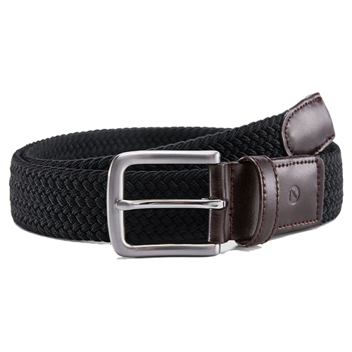 Xiaomi QIMIAN Elastic Knitting Pin Buckle Belt Black/Brown