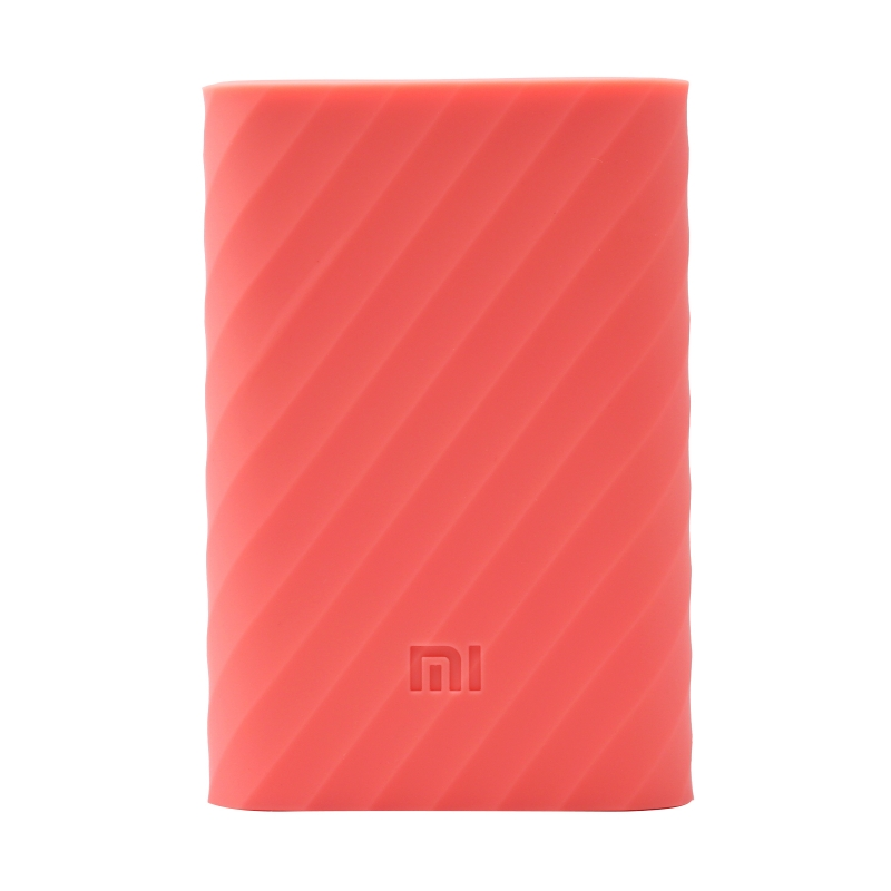 Xiaomi Mi Power Bank 10000mAh Silicone Protective Case Pink