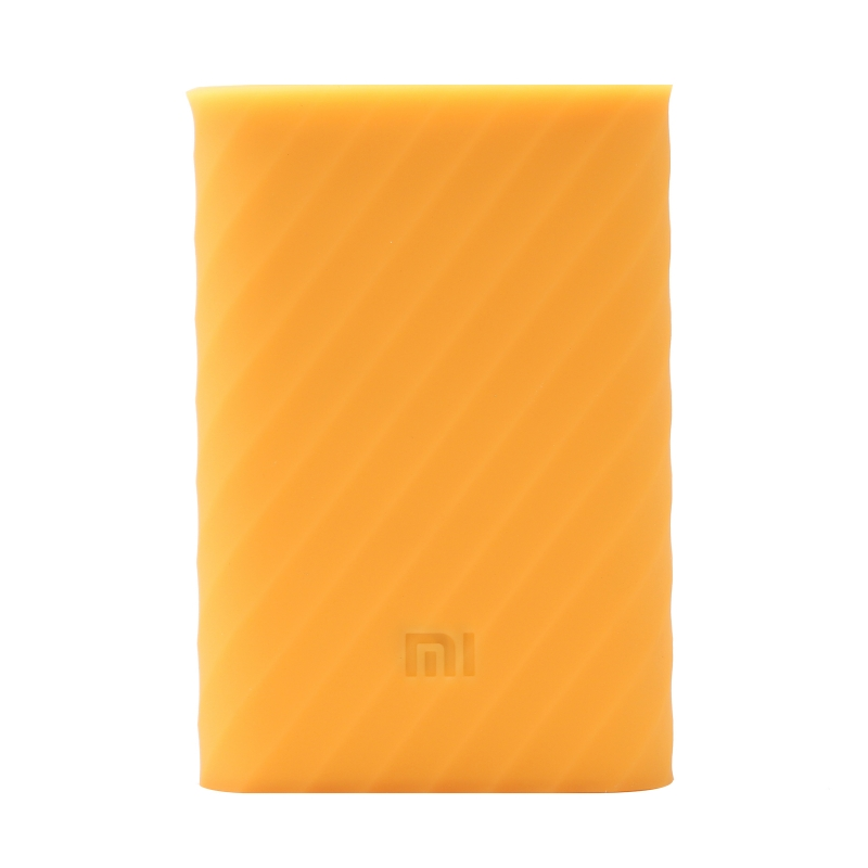Xiaomi Mi Power Bank 10000mAh Silicone Protective Case Orange