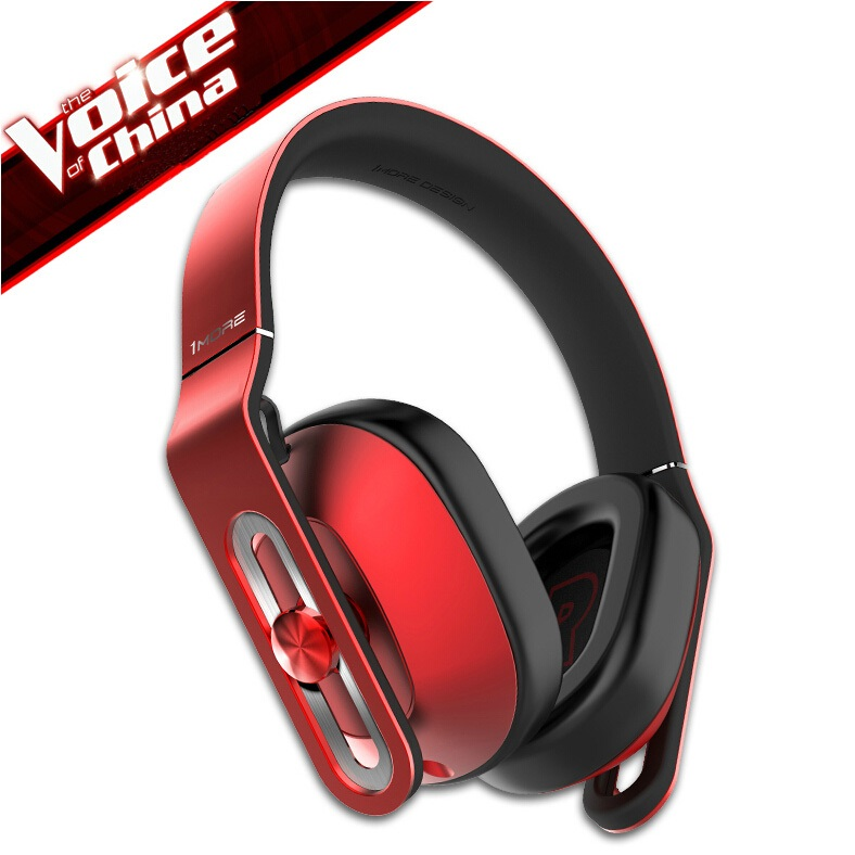 1More Voice of China Bluetooth Over-Ear Headphones Red