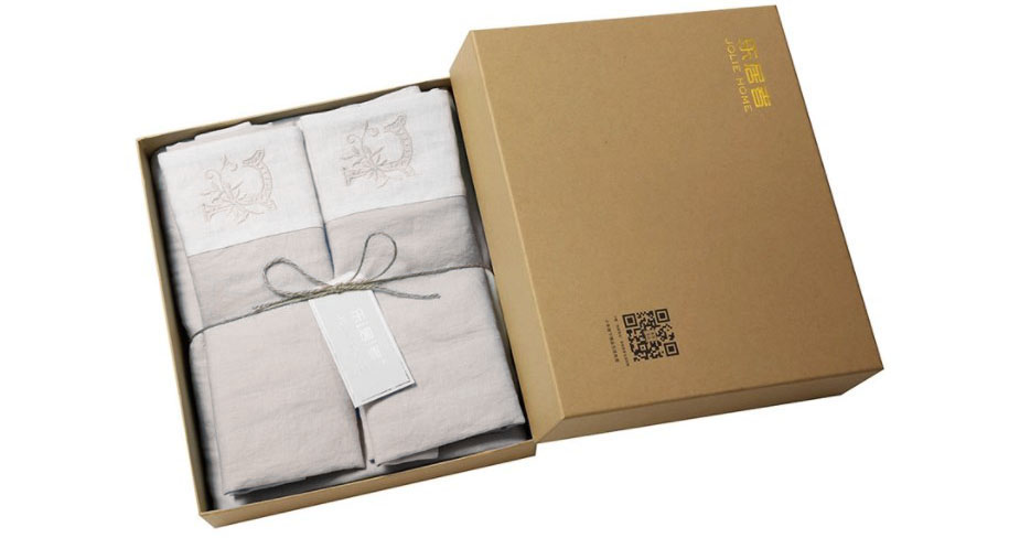 Jolie Home Yi Tian Bedding Set 180mm Gray