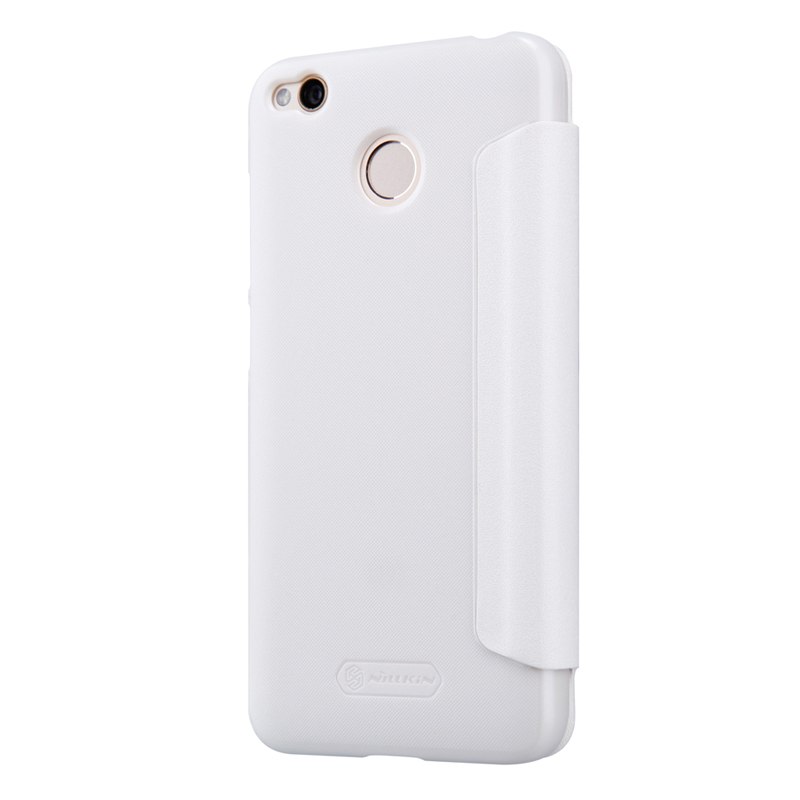 Nillkin Sparkle Leather Case for Xiaomi Redmi 4X White