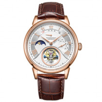 TwentySeventeen Craftsmanship Heritage Series Mechanical Watch Brown