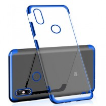 Mi Max 3 Silicone Case Cover Blue