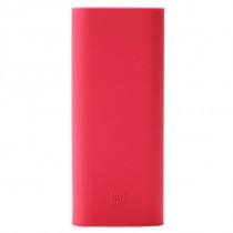 Xiaomi Mi  Power Bank 16000 mAh Protective Case Red