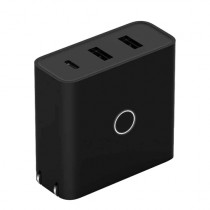ZMI zPower 3-Port Travel Charger Black