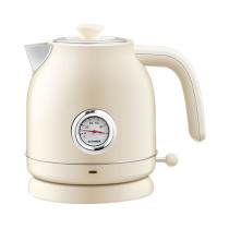 QCOOKER Electric Kettle White