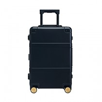 "RunMi 90 Points Smart Metal Suitcase Fingerprint Ed. 20"" Black"