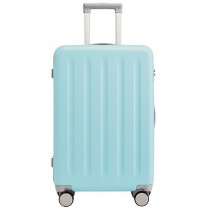 "RunMi 90 Points Trolley Suitcase 24"" Macaron Mint Green"