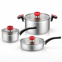 Yi Wu Yi Shi Healthy Stainless Steel Pan Set
