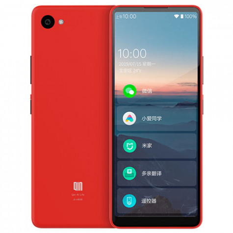 Xiaomi QIN 2 AI 4G Phone Red