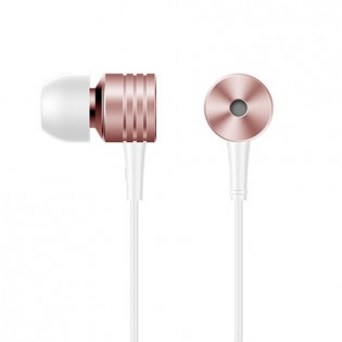 1More Vintage Piston In-Ear Headphones Pink