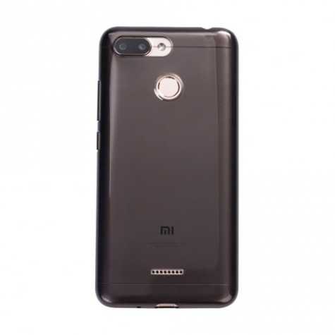 Redmi 6 Soft Protective Case Black