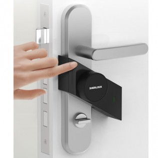 Sherlock M1 Smart Sticker Lock Left Black