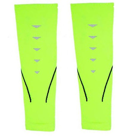 Mitown Sports Calf Compression Sleeves Light Green (M)