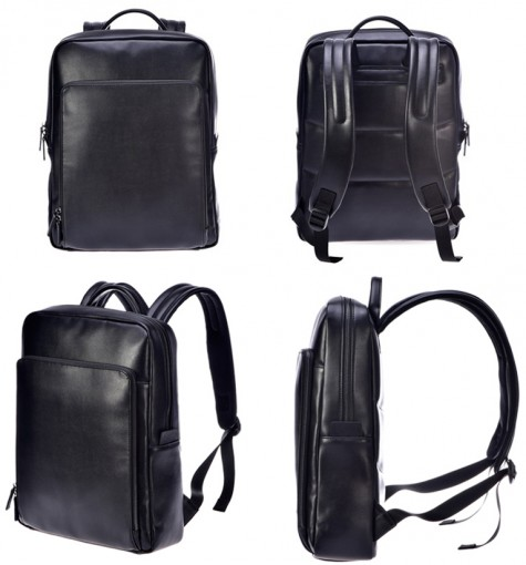 RunMi 90 Points Business Backpack Black