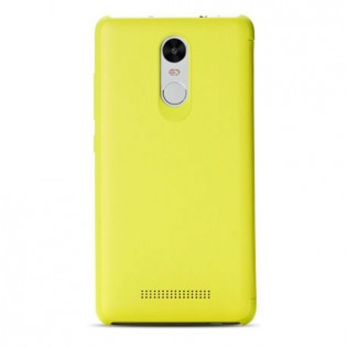 Xiaomi Redmi Note 3 Leather Flip Case Yellow