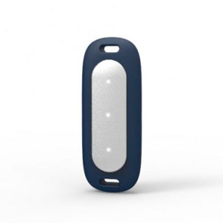 Xiaomi Mi Band MiJobs Silicone Necklace Pendant Case Blue