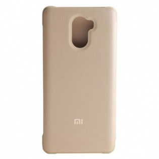 Xiaomi Redmi 4 Standard Ed. Smart Flip Case Gold