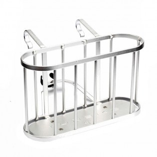 YunBike C1 Bicycle Luggage Rack Silver