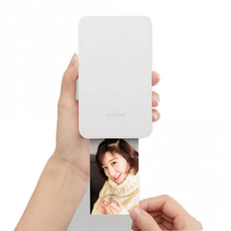 Xprint Phone Photo Bluetooth Printer White