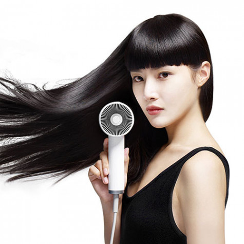 ZHIBAI straight white anion hair dryer White
