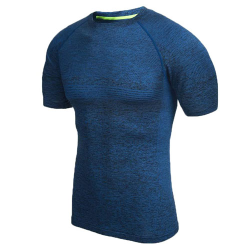 RunMi 90 Points Men`s T-shirt Blue Size XL