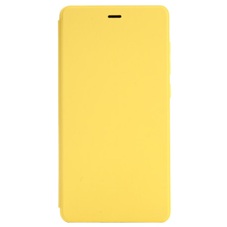Xiaomi Mi 4c Leather Flip Case Yellow
