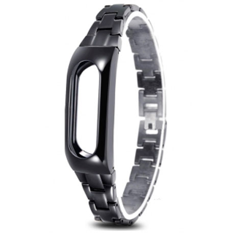 Xiaomi Mi Band Stainless Steel Strap Black