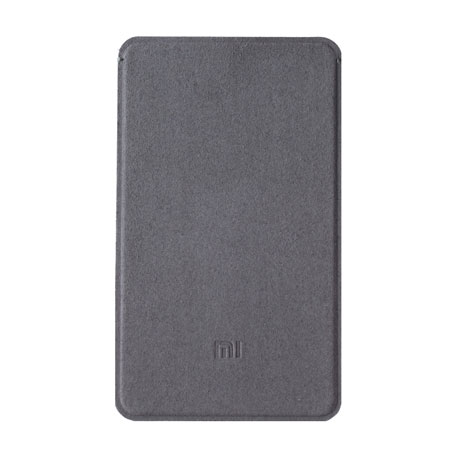 Xiaomi Mi Power Bank 5000mAh Microfiber Pouch Case Gray