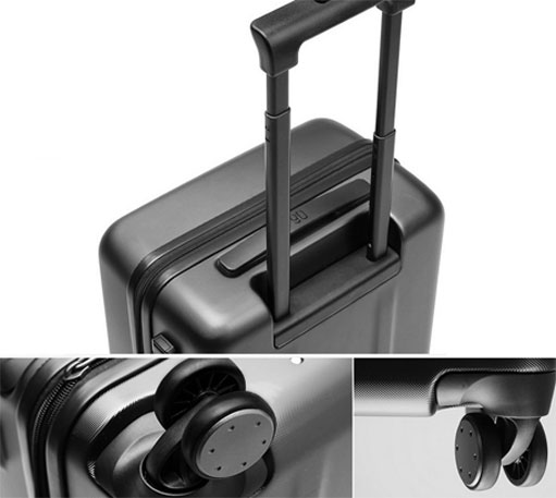 "Xiaomi Trolley 90 Points Suitcase 24"" Gray Stars"