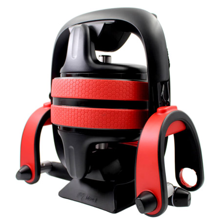 Move It Smart Multi-Purpose Fitness Device Black / Red