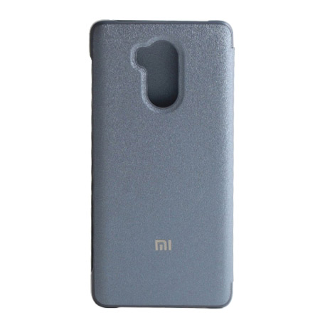 Xiaomi Redmi 4 High Ed. Smart Flip Case Silver