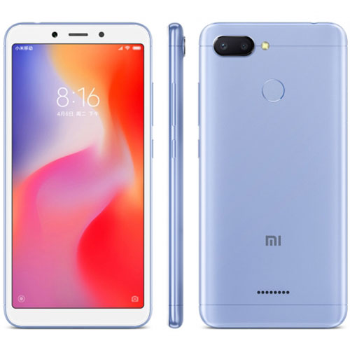 Xiaomi Redmi 6 High Ed. 4GB/64GB Dual SIM Blue