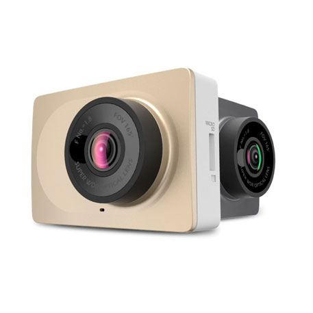 Yi Smart Dash Camera Car DVR Gold