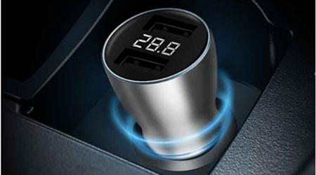 Zmi Car Charger Has Got a Digital Display