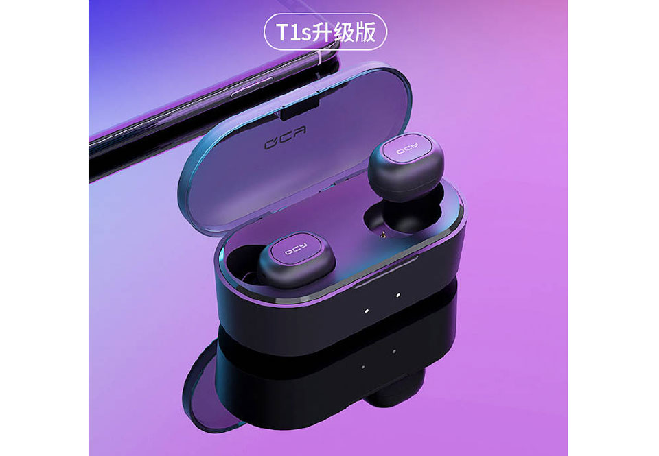 QCY T1s headphones