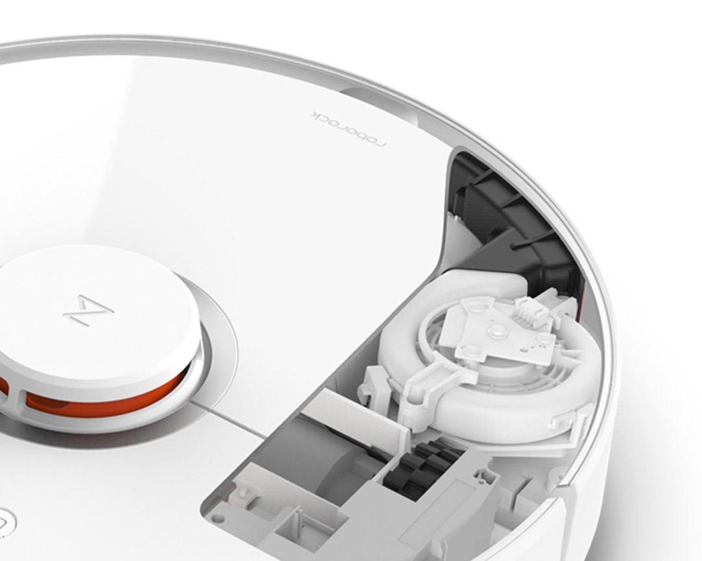 Mi Home (Mijia) Roborock Robot Vacuum Cleaner 2 White: full