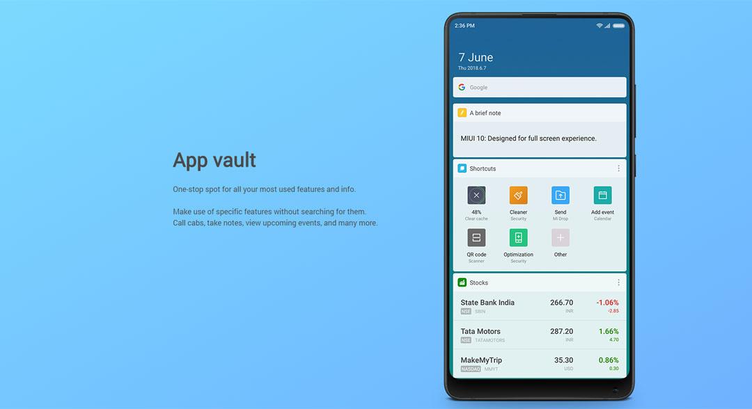 Firmware for smartphone Xiaomi - MIUI